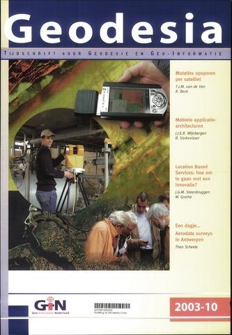 (NGT) Geodesia 2003-10-01