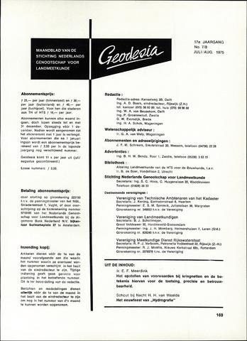 (NGT) Geodesia 1975-07-01