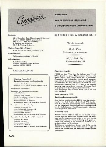 (NGT) Geodesia 1962-12-01