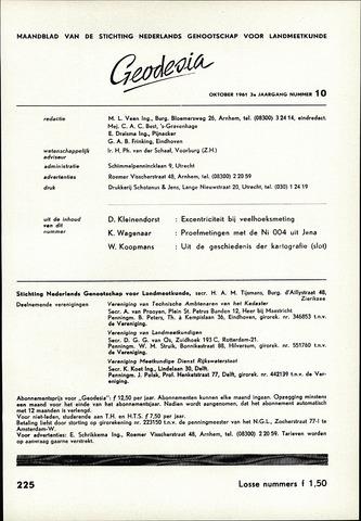 (NGT) Geodesia 1961-10-01