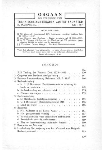 Orgaan der Vereeniging TAK 1957-07-01