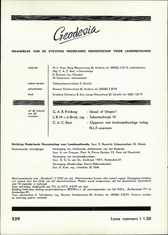 (NGT) Geodesia 1960-12-01