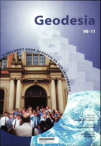 (NGT) Geodesia 1998-11-01
