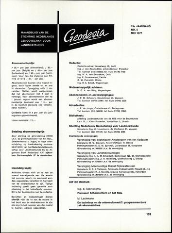 (NGT) Geodesia 1977-05-01