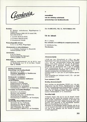(NGT) Geodesia 1970-11-01
