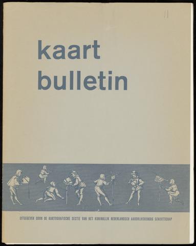 Kaartbulletin 1966-09-01