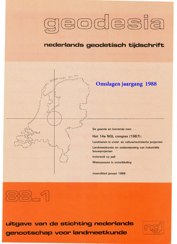 (NGT) Geodesia 1988-12-31