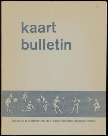Kaartbulletin 1966