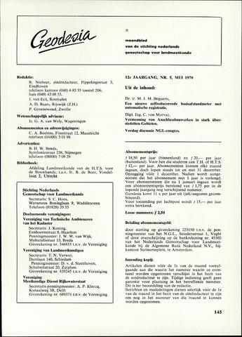 (NGT) Geodesia 1970-05-01