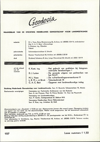 (NGT) Geodesia 1960-09-01