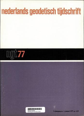 Nederlands Geodetisch Tijdschrift (NGT) 1977
