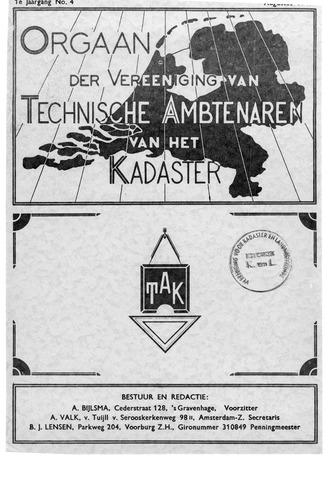 Orgaan der Vereeniging TAK 1940-08-01
