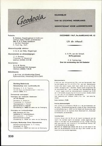 (NGT) Geodesia 1967-12-01