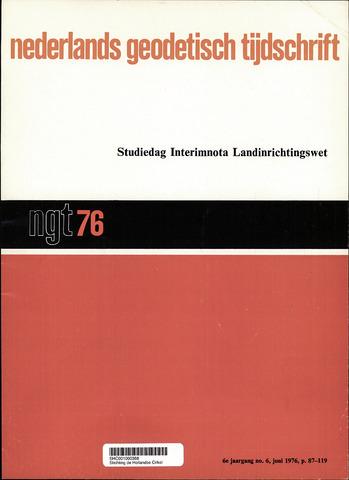 Nederlands Geodetisch Tijdschrift (NGT) 1976-06-01