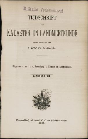 Tijdschrift voor Kadaster en Landmeetkunde (KenL) 1897