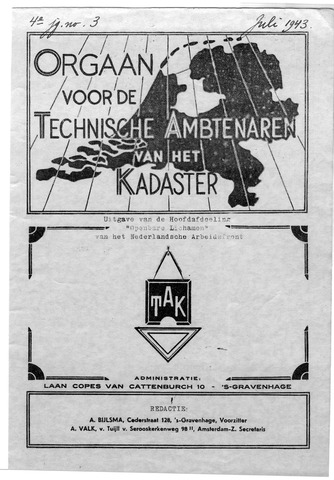 Orgaan der Vereeniging TAK 1943-07-01