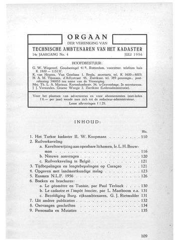 Orgaan der Vereeniging TAK 1956-07-01