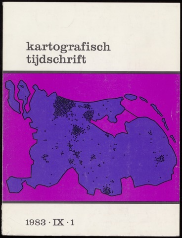 Kartografisch Tijdschrift 1983