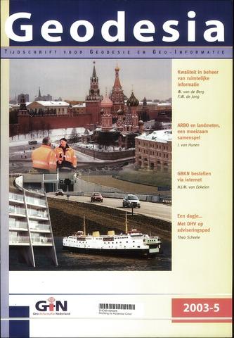 (NGT) Geodesia 2003-05-01