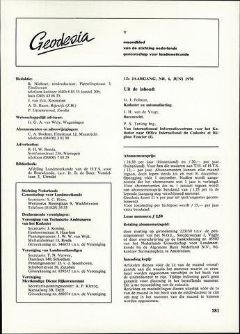 (NGT) Geodesia 1970-06-01
