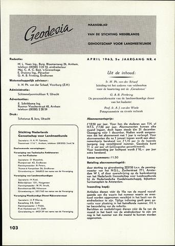 (NGT) Geodesia 1963-04-01