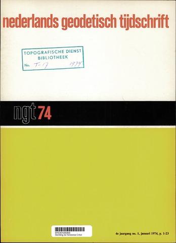 Nederlands Geodetisch Tijdschrift (NGT) 1974