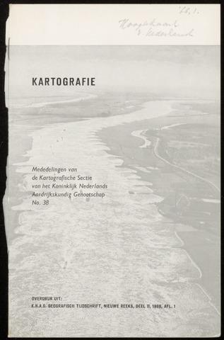 Kartografie 1968