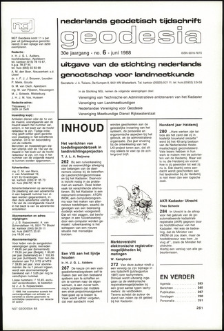 (NGT) Geodesia 1988-06-01