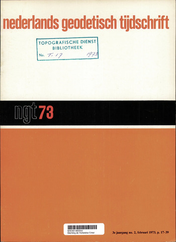 Nederlands Geodetisch Tijdschrift (NGT) 1973-02-01