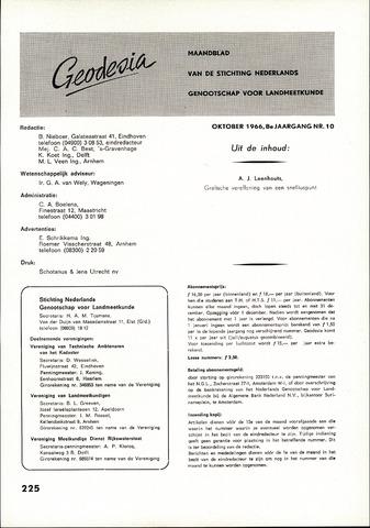 (NGT) Geodesia 1966-10-01