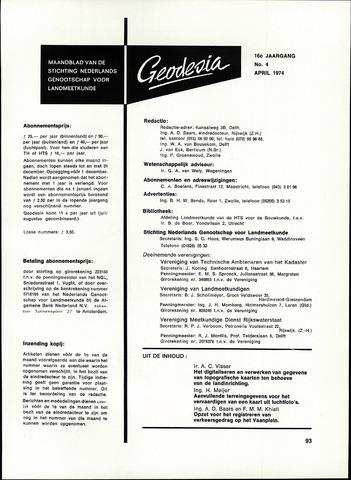 (NGT) Geodesia 1974-04-01