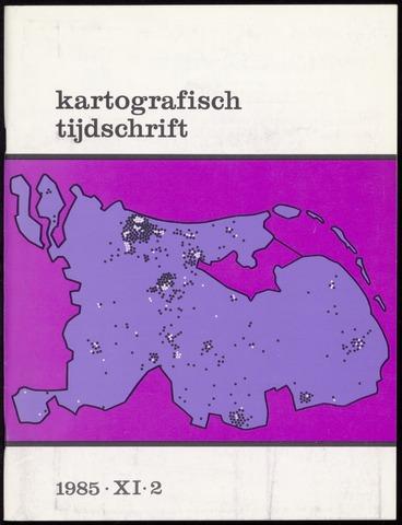 Kartografisch Tijdschrift 1985-04-01