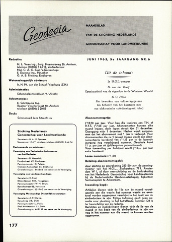(NGT) Geodesia 1963-06-01
