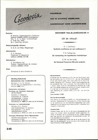(NGT) Geodesia 1966-11-01