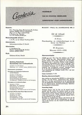(NGT) Geodesia 1963-03-01