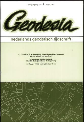 (NGT) Geodesia 1983-03-01