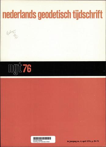 Nederlands Geodetisch Tijdschrift (NGT) 1976-04-01