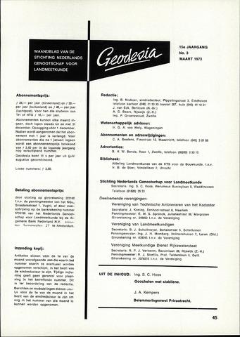 (NGT) Geodesia 1973-03-01