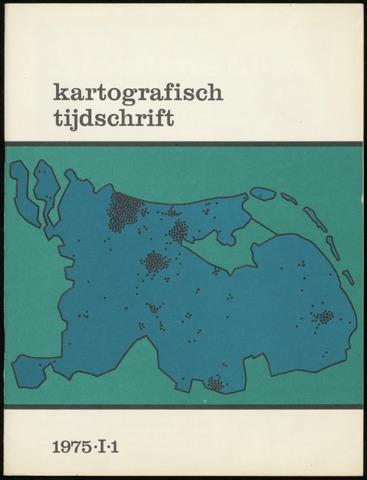 Kartografisch Tijdschrift 1975