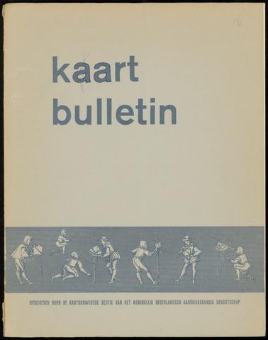 Kaartbulletin 1968