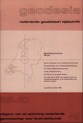 (NGT) Geodesia 1985-10-01