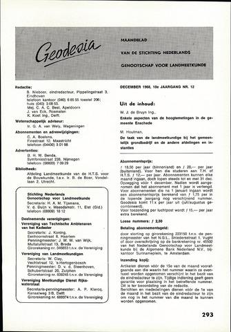 (NGT) Geodesia 1968-12-01