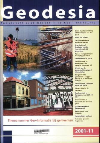 (NGT) Geodesia 2001-11-01