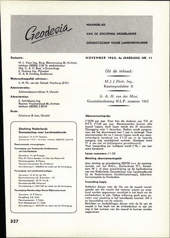 (NGT) Geodesia 1962-11-01