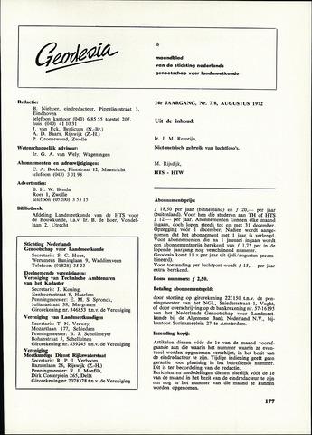 (NGT) Geodesia 1972-07-01
