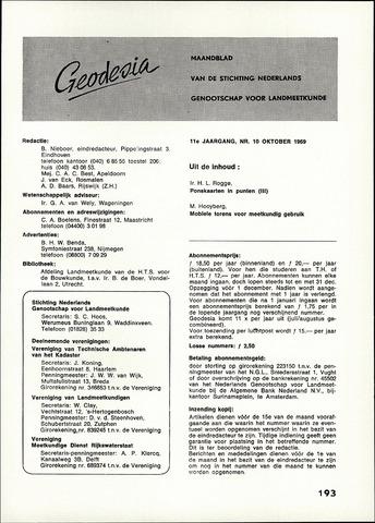 (NGT) Geodesia 1969-10-01