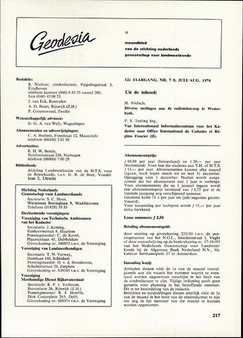 (NGT) Geodesia 1970-07-01