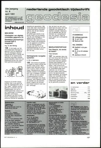 (NGT) Geodesia 1991-04-01