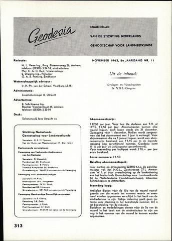 (NGT) Geodesia 1963-11-01