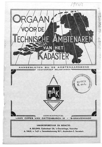 Orgaan der Vereeniging TAK 1942-04-01